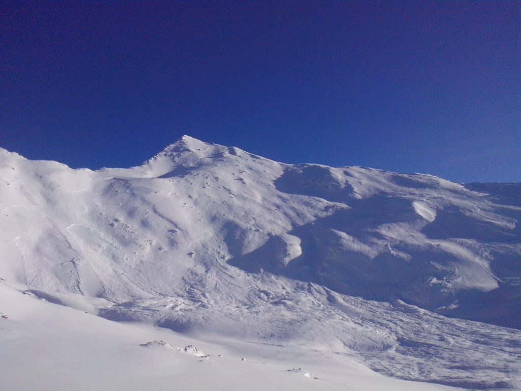 Le haut des pistes de Val Cenis Termignon