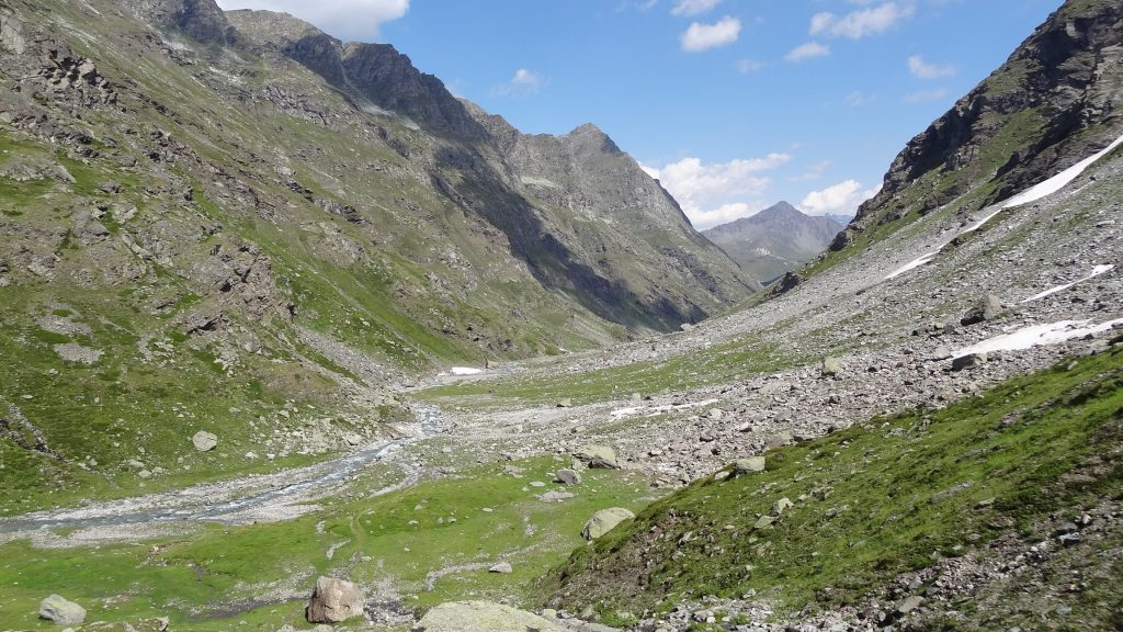 Le Vallon d'Ambin avec en fond le Signal du Petit Mont Cenis
