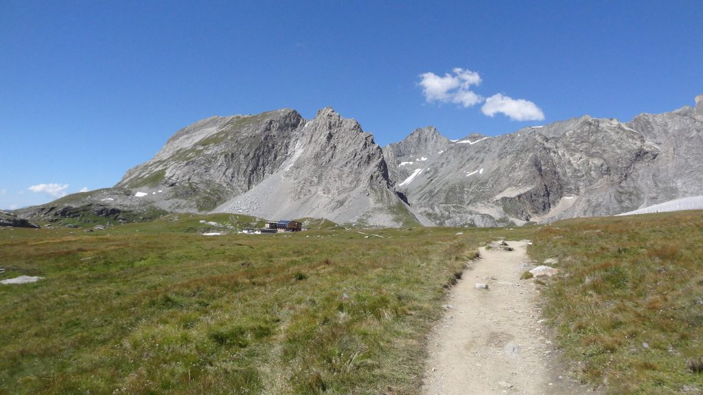 Col de la Vanoise - Arrivée au refuge