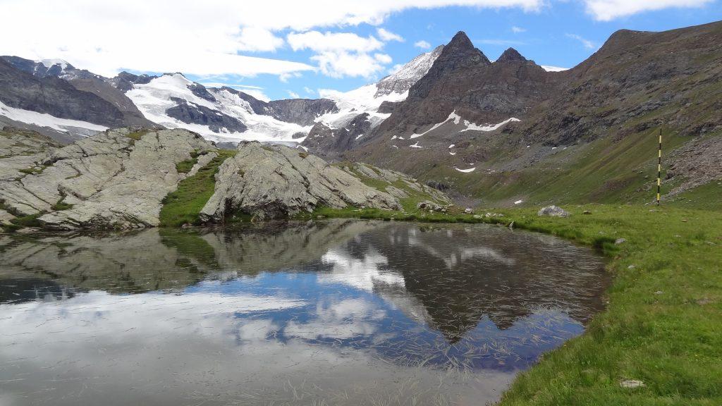 Lac du Grand Méan - En repartant du refuge