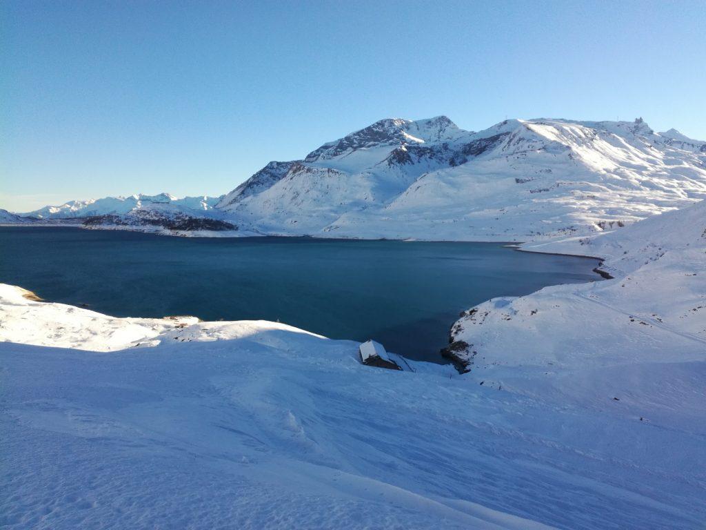 Randonnée autour du lac du Mont Cenis