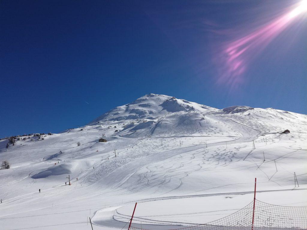 A l'arrivée de la Ramasse à Val Cenis Lanslebourg