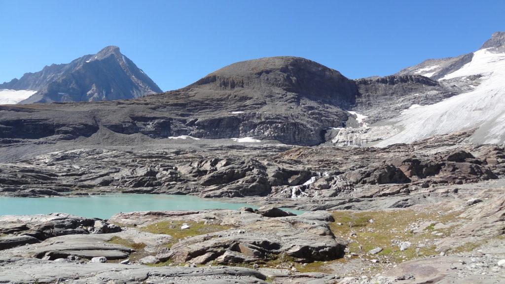 Lac de l'Arpont - Lac et Dent Parrachée