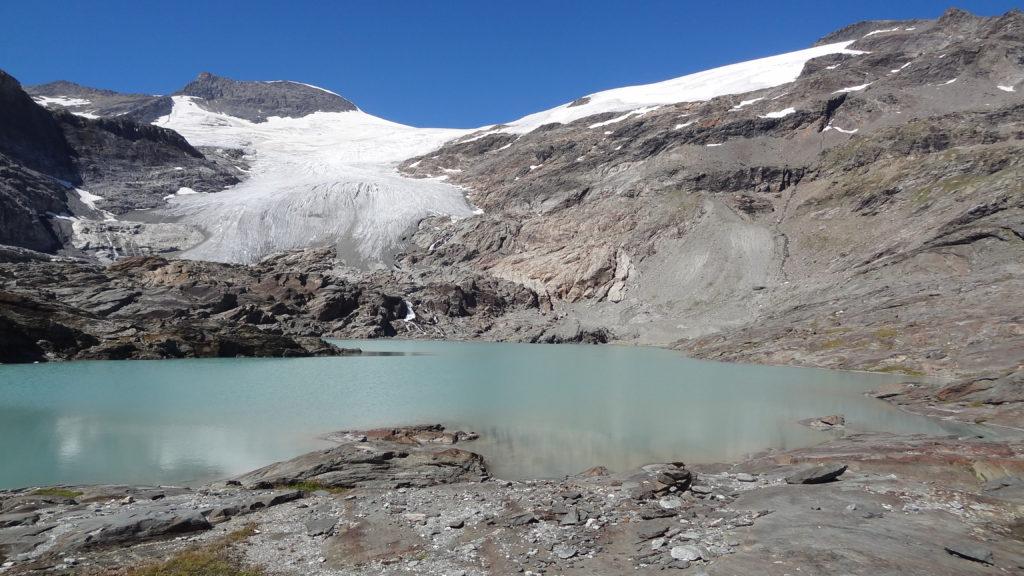 Lac de l'Arpont - Sous le glacier