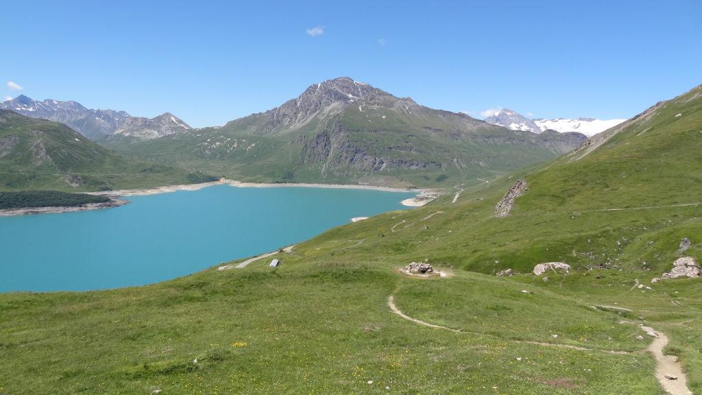 ... et le Signal du Petit-Mont-Cenis, la Dent Parrachée et les glaciers de la Vanoise